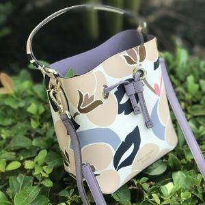 Kate Spade Small Bucket Eva Breezy Floral Handbag